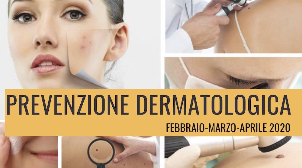 prevenzione dermatologica 2020
